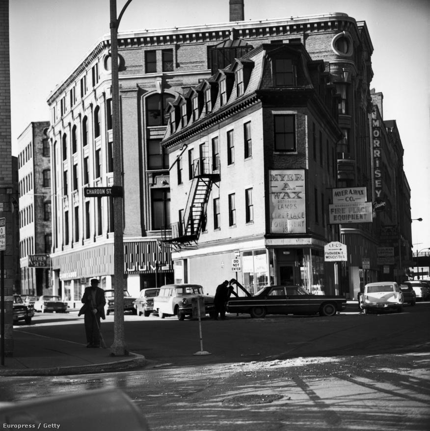 Hogy milyen volt Boston a hatvanas évek elején? Ilyen.