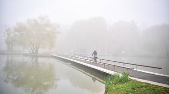Veszélyjelzést adtak ki több megyére a sűrű köd miatt