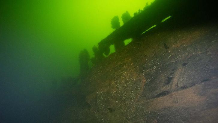 2019. novemberében felfedezett hajóroncs Vaxholm szigete mellett.