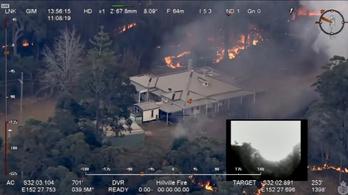 Apokalipszist idéző tüzek pusztítanak Ausztráliában