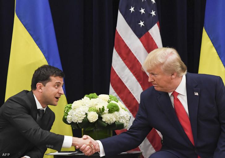 Vlagyimir Zelenszkij és Donald Trump találkozója New Yorkban, 2019. szeptember 25-én