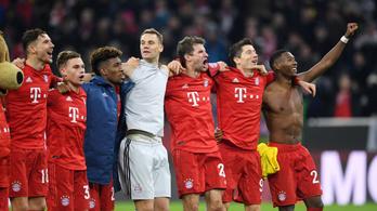 Nem látszott az edzőváltás, földbe döngölte ellenfelét a Bayern München