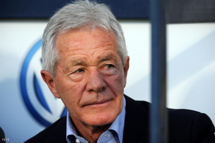 Mezey György a magyar labdarúgó-válogatott volt szövetségi kapitánya