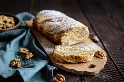 Mennyei diós kalács kelt tésztából: a nagyi megbízható családi receptje