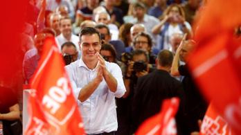 A spanyol szocialisták nyertek, de nagyot erősödött a szélsőjobboldal