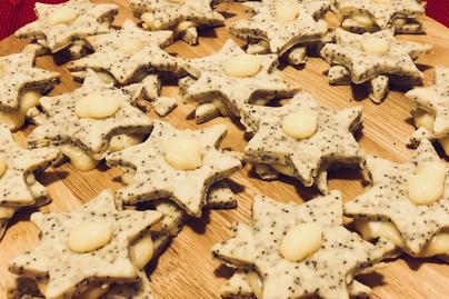 Különleges mákos-citromkrémes linzer - Karácsonykor kötelező
