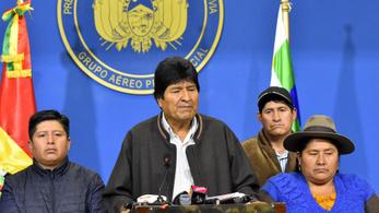 Lemondott Evo Morales bolíviai elnök