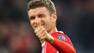 Meztelen képpel ünnepelte a Bayern München játékosa 500. mérkőzését