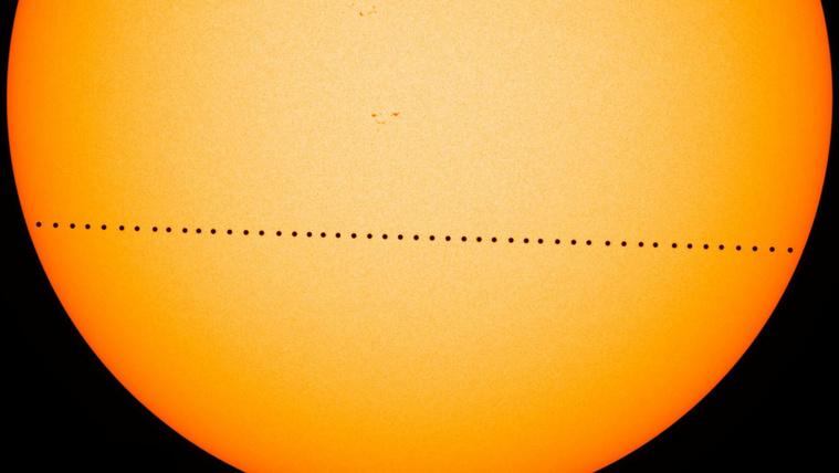 A Merkúr átvonul ma a Nap előtt