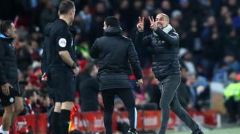 Guardiola teljesen megőrült a Liverpool ellen