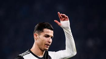 C. Ronaldo rövidre zárta a csereincidenst