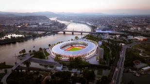 Az atlétikai stadion területét második Margitszigetnek álmodják
