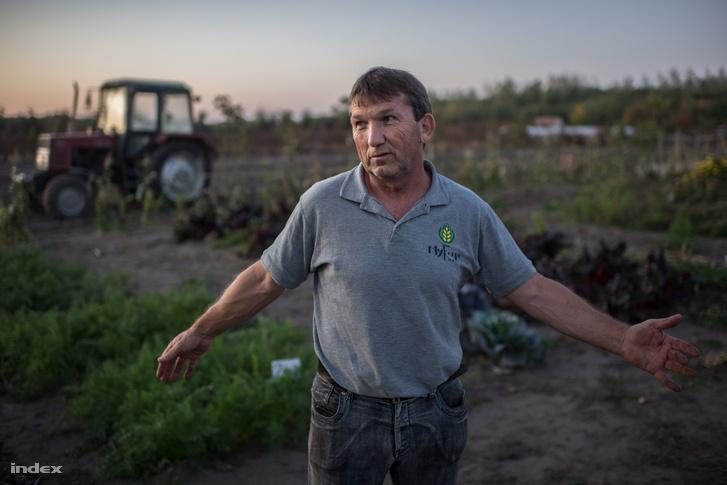 Harminc éve őstermelő, a vegyszermentes gazdálkodással most ismerkedik