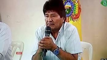 Mexikóban kapott menedékjogot Evo Morales