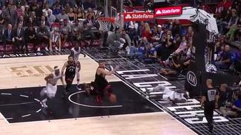 Faként dőltek az NBA-sek a pusztító blokkolás után