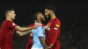 Sterling nekiugrott Gomeznek az angol edzőtáborban, letiltották egy meccsről