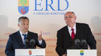 Majdnem 5 millió forint szabadságmegváltást kap Érd bukott fideszes polgármestere