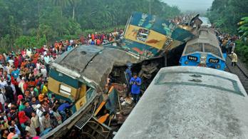 50-nél is több sérült és legalább 15 halott egy bangladesi vonatbalesetben
