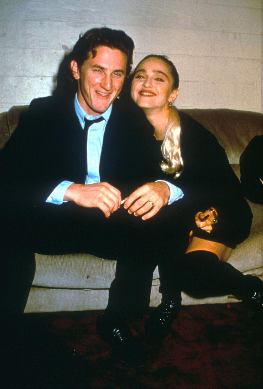 Madonna és Sean Penn négy évig voltak házasok.