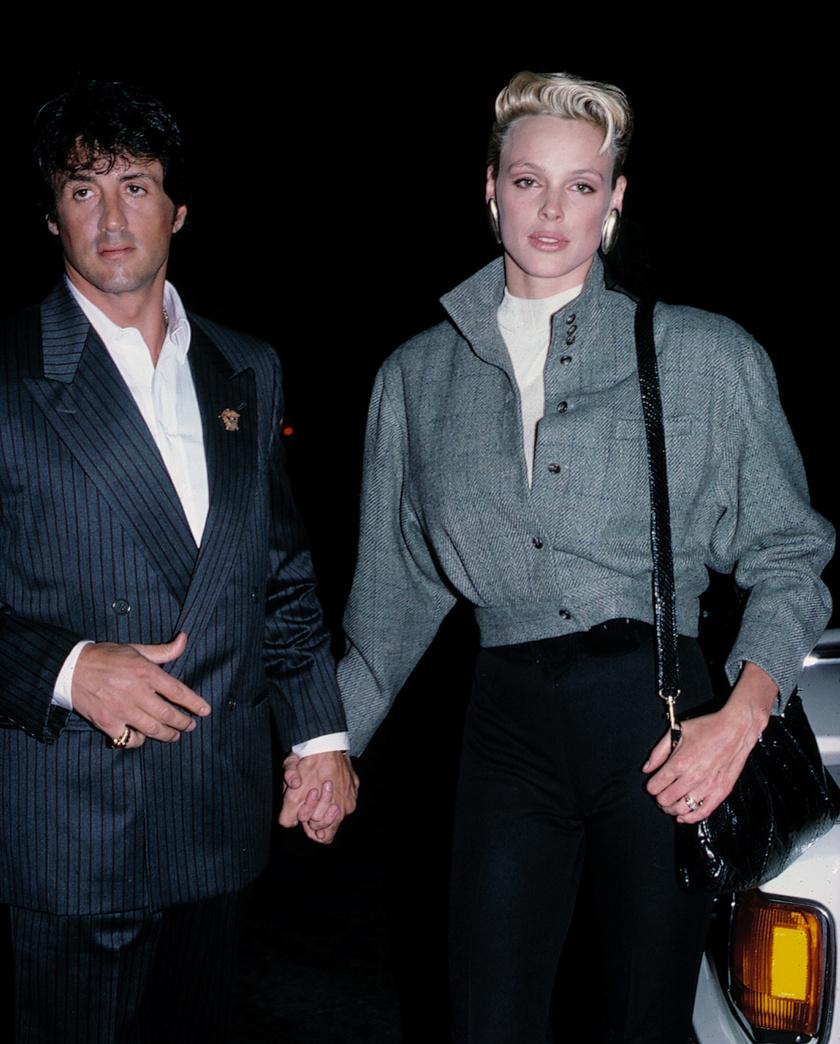 Amikor Brigitte Nielsen és Sean Penn egy éjszaka erejéig egymáséi lettek, akkor a színésznő és modell még Sylvester Stallone felesége volt.