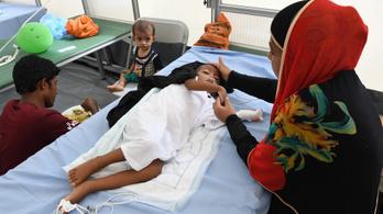 39 másodpercenként meghal egy kisgyerek tüdőgyulladásban