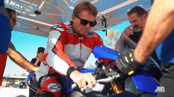 26 év után motorozott újra a lebénult háromszoros világbajnok