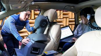 Aktív menetzaj-csökkentéssel kísérletezik a Hyundai