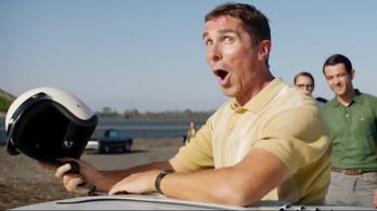 Vegytiszta menőség Bale és Damon autóversenyzős filmje