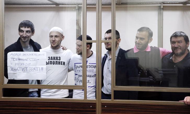 Refat Alimov, Arszen Dzsepparov, Vagyim Sziruk, Emir-Uszein Kuku, Muszlim Alijev, és Enver Bekirov