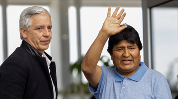 Megérkezett Mexikóba Evo Morales