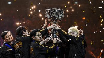 LoL-vb: Kínáé maradt a trón, magyar esporttörténelem