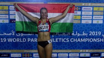Ekler Luca második lett 100 méteres futásban a paraatlétikai világbajnokságon