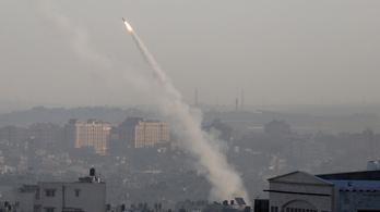 Újra bombázzák az izraeli településeket a Gázai övezetből