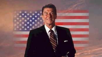Így mesélt oroszos vicceket Reagan