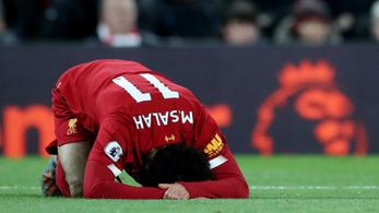 Belesérült a City legyőzésébe Szalah, nem játszhat a válogatottban