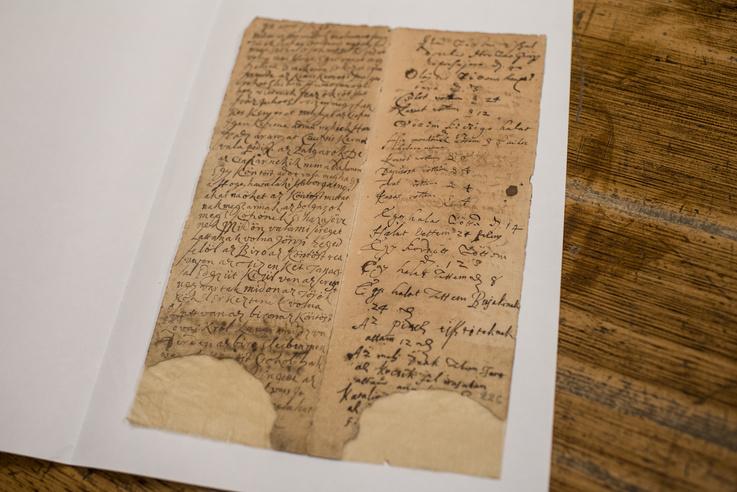 A beszélő köntös leírása eredetileg egy 1668 és 1670 között íródott, csaknem háromszáz oldalas, magyar nyelven íródott robotlajstromból származik.