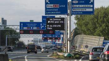 Elég komoly sebességcsökkentés jöhet a holland autópályákon