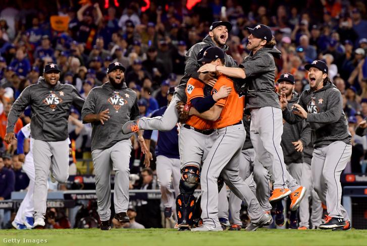 A 2017-es bajnok Houston Astros