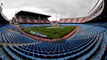 Autóút lett az Atlético Madrid félig lebontott stadionja helyén