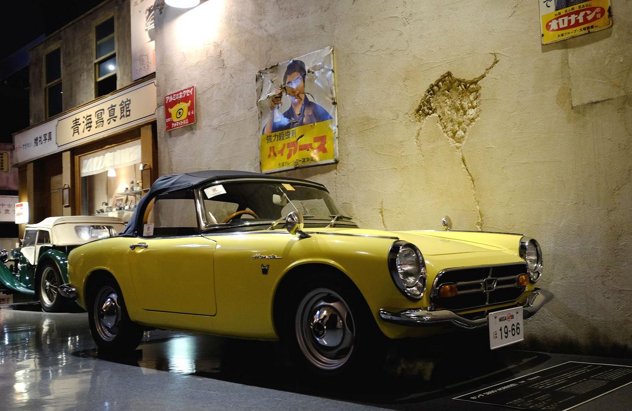Ezt az autót azért Európában is sokan ismerték, mert Nyugaton népszerű volt: Honda S600 1966-ból, a Totalcaron van is fenn teszt róla