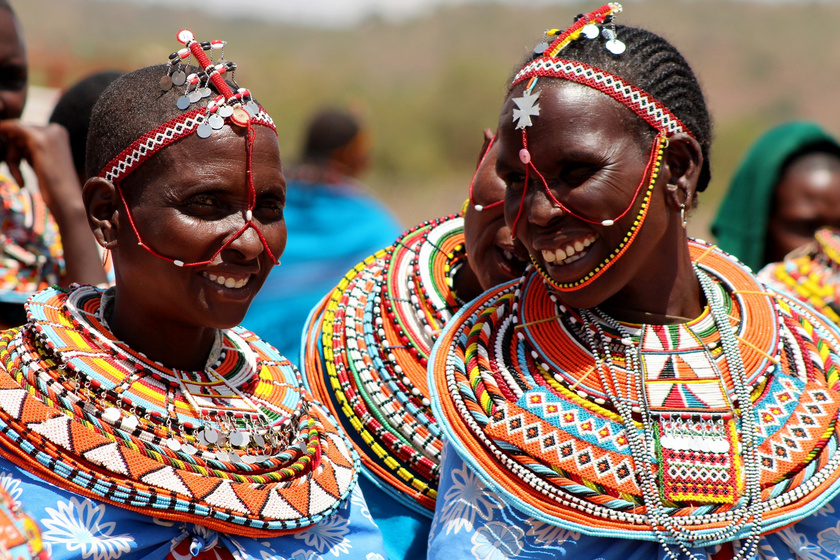 A kenyai falu, ahonnan minden férfit kitiltottak - Umojában csak nők és gyermekek élhetnek
