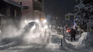 Közeleg a tél, káoszba zuhan Közép-Nyugat Ausztria