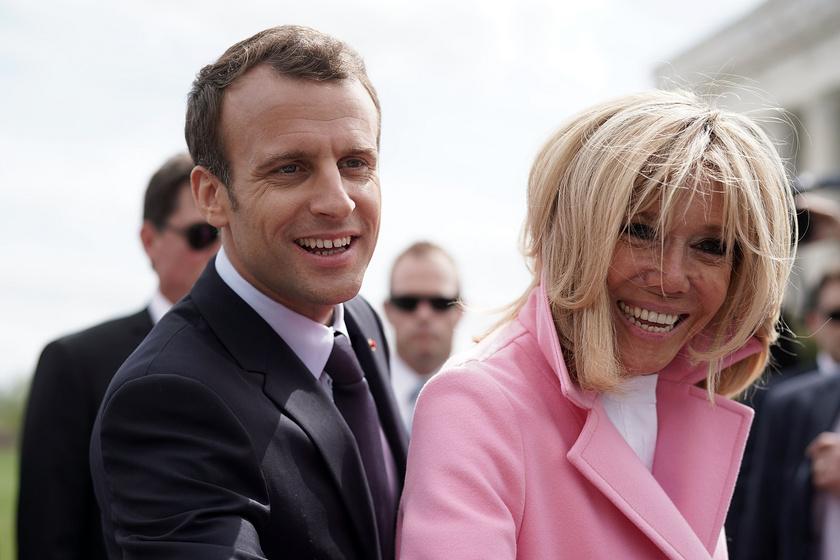 Emmanuel Macron és felesége, Brigitte már 2007 óta élnek házasságban.