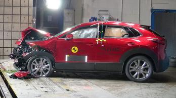 Majdnem tökéletes a Mazda CX-30 biztonsága