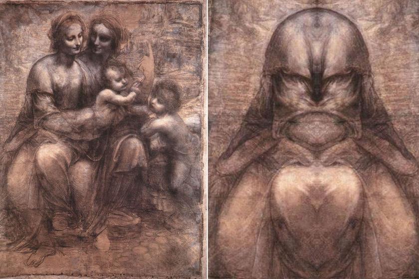 Ördögi lényeket csempészett képeibe: Leonardo da Vinci a tükörfestészet nagymestere is volt