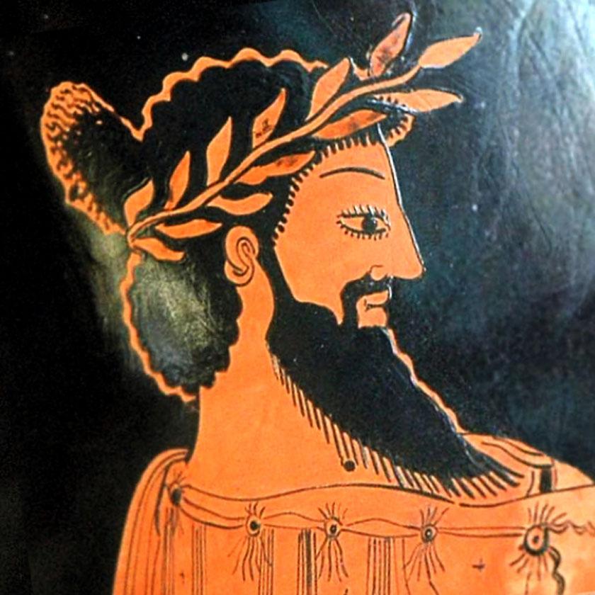 Karun, az uralkodó egy ábrázolása, akiről a kincsek nevüket kapták.