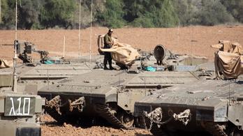 Az izraeli légierő a gázai emeletes házak leradírozásával fenyeget