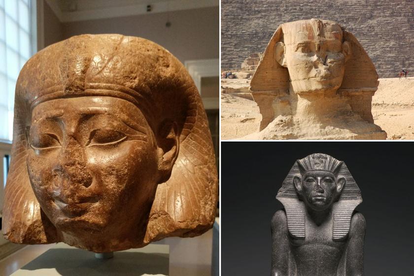 Miért hiányzik az egyiptomi szobrok orra? Keveseknek tűnik fel, pedig szembeötlő egyezés