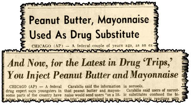 1969-es újság szalagcímek