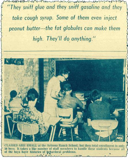 Újságcikk az 1969. szeptember 28-i The Clarksville Leaf Chronicle című lapból